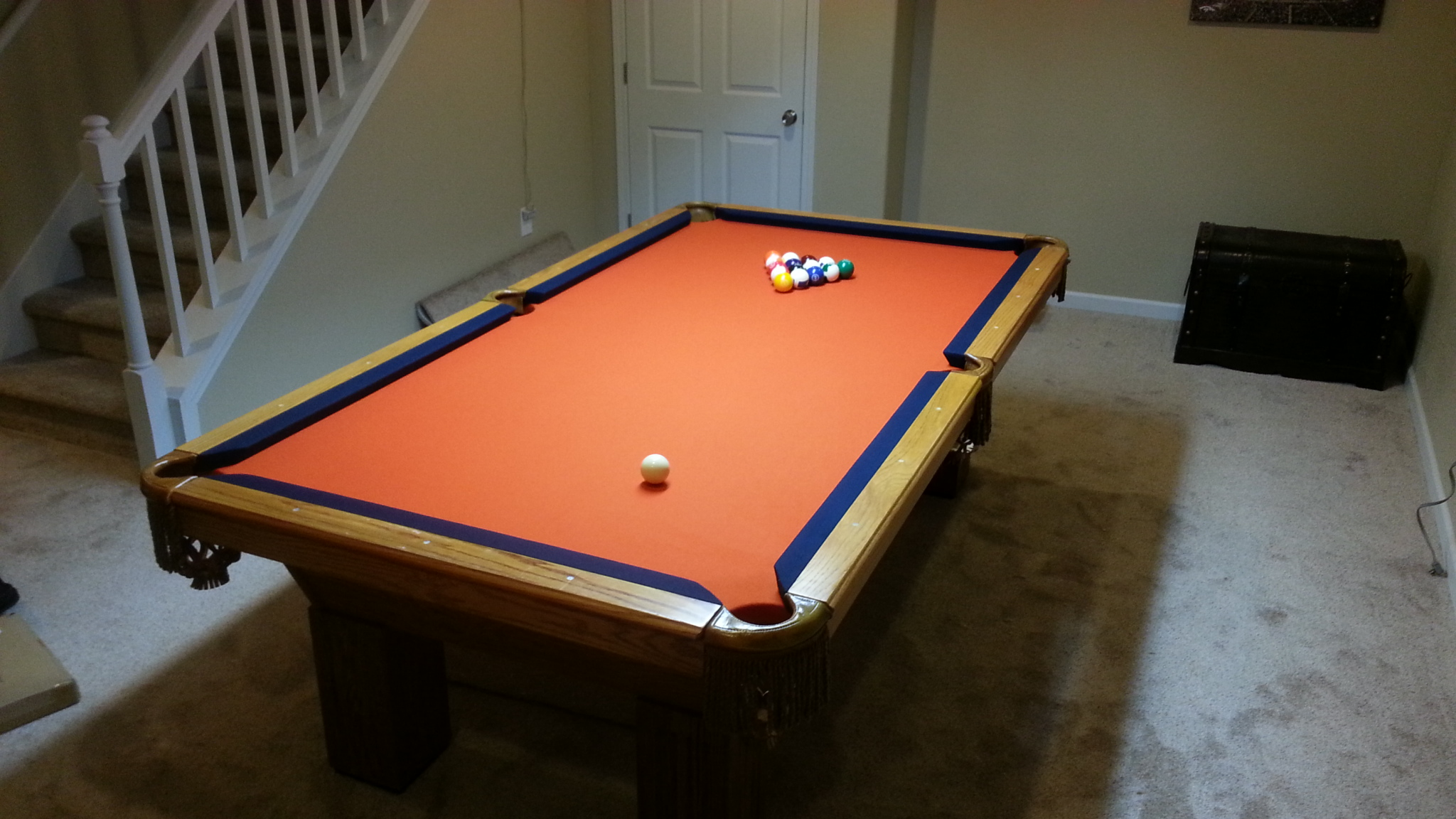 over new il refelt sell sold pool mover pooltablemover table on billiard crating time chicago buy pools recushion install best images used illinois tables