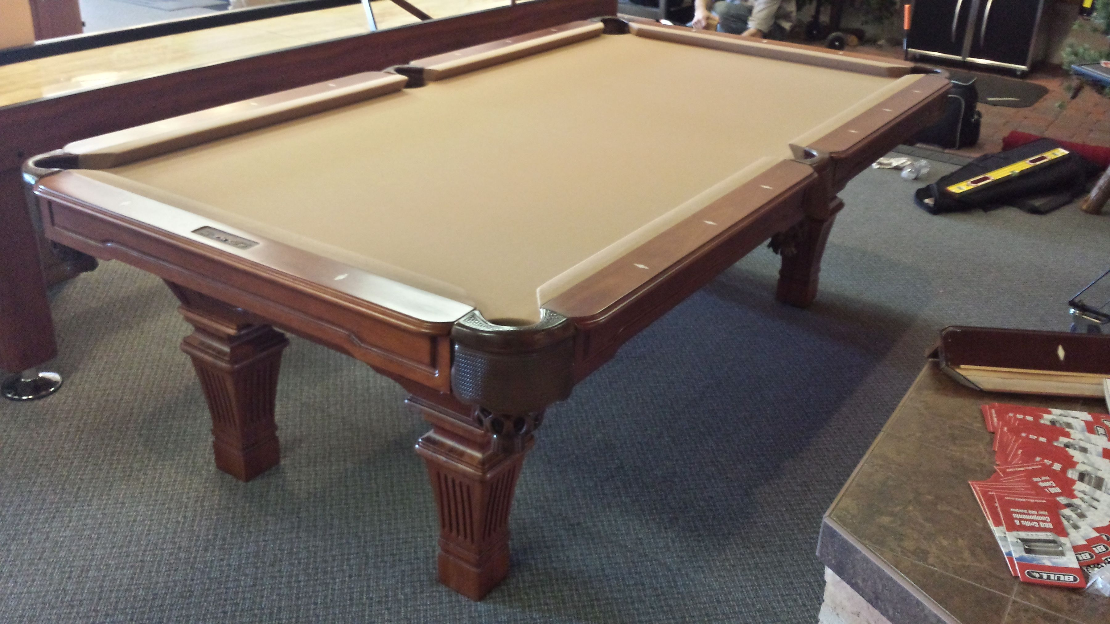 Installed New Presidential Billiards Table For My Friends At Spas Of - Buy my pool table