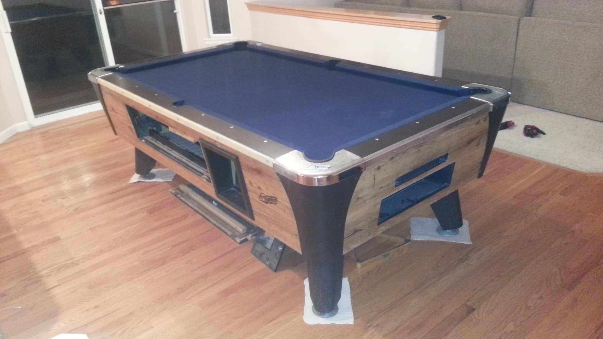Coin Operated Bar Box Used Pool Table Install In Lakewood Colorado - How to move a slate pool table