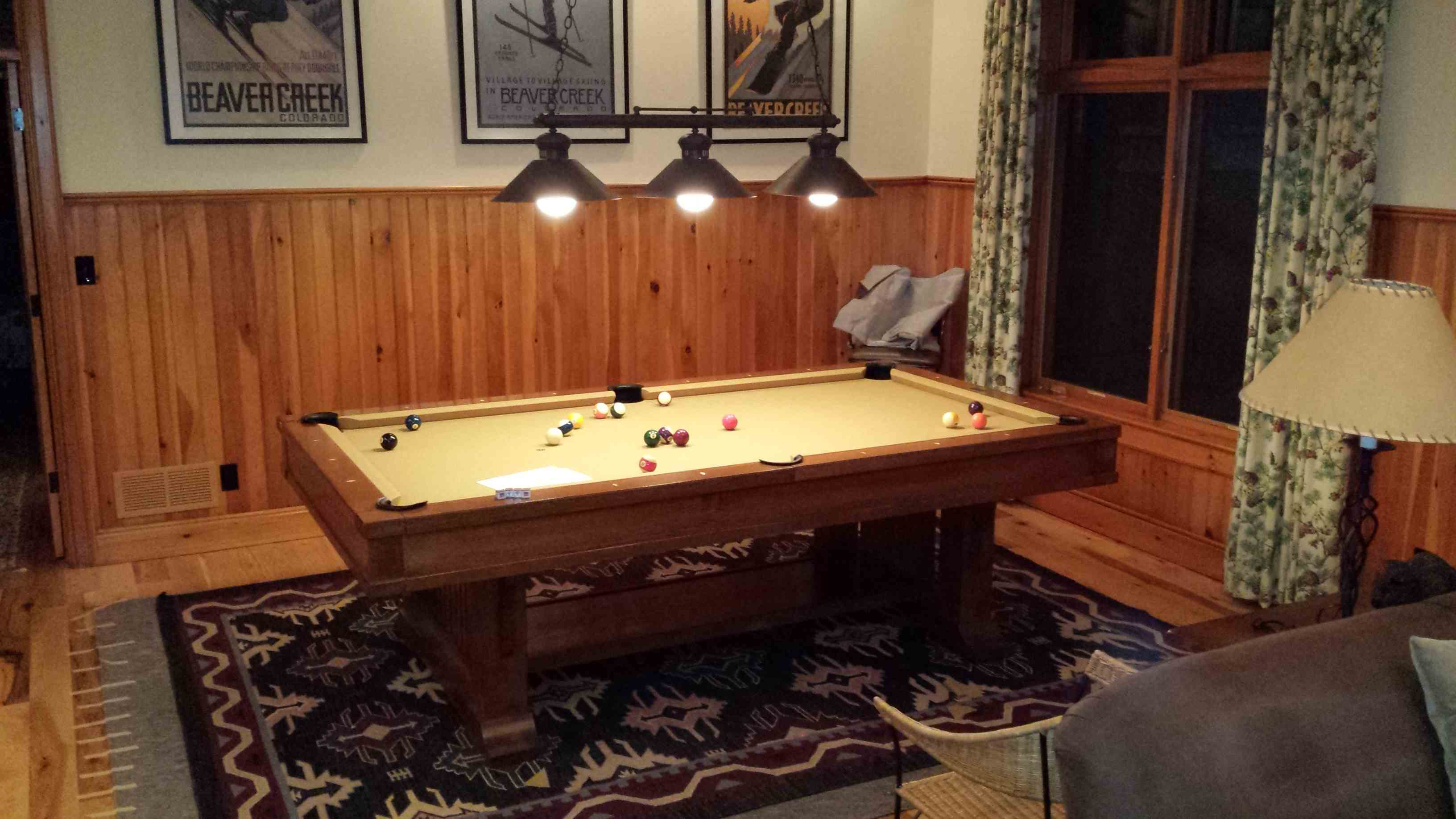 Brunswick Pool Table Assembly With New Championship Pool Table Felt - New brunswick pool table