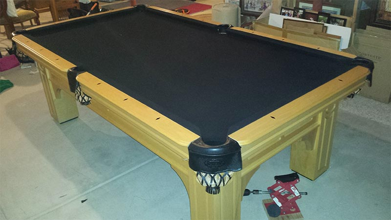 colorado pool table restoration