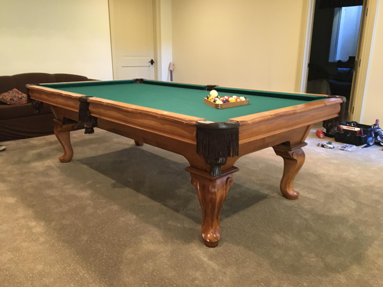 Pro Oversized Gandy MADE IN USA - Gandy pool table