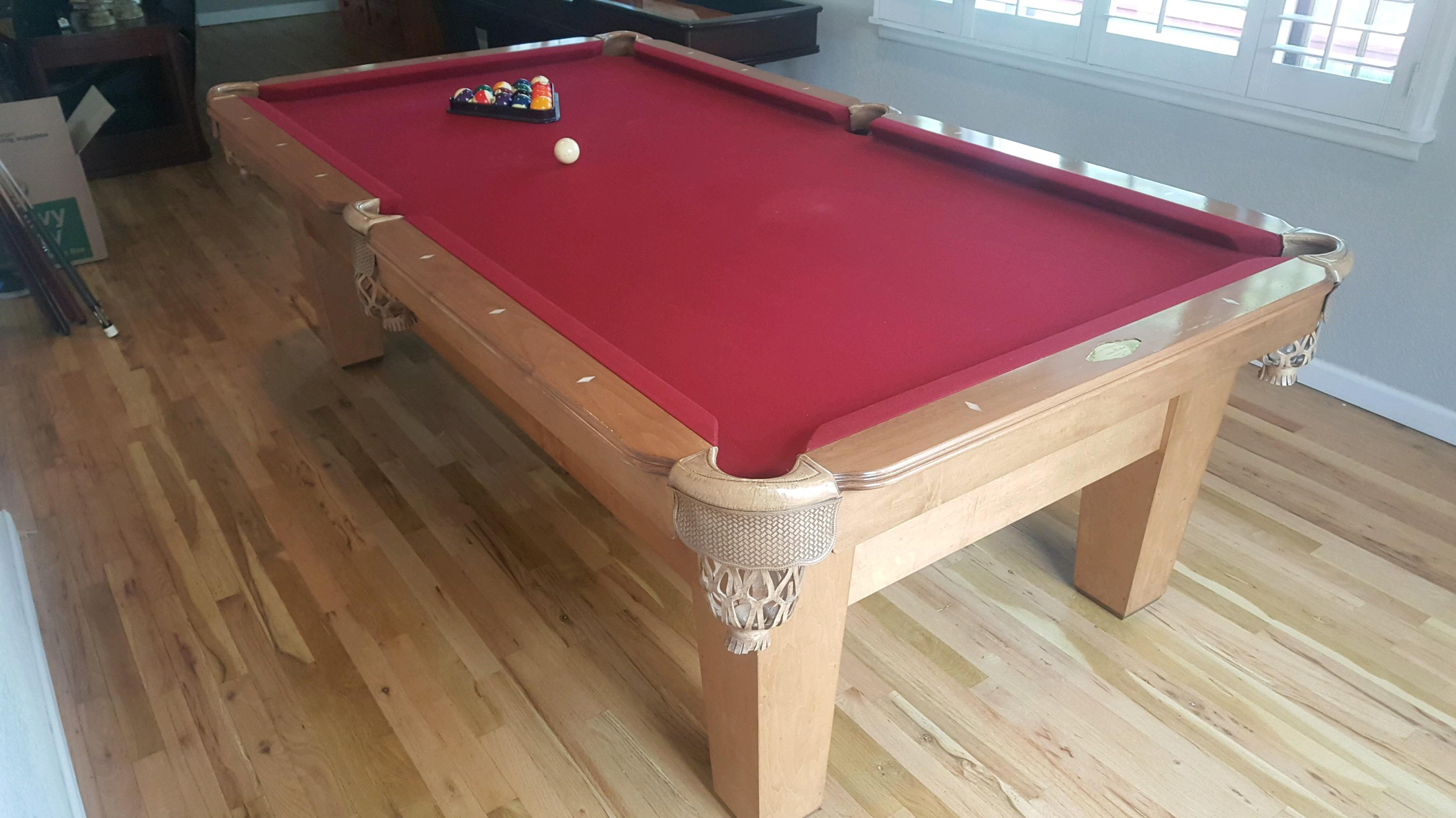 ProLine Winchester Excellent Condition MADE IN USA - Winchester pool table