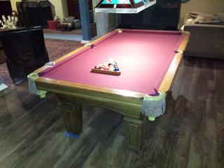 Olhausen Pool Table Move And Refelt In Arvada Colorado - Move my pool table