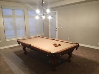 Used Pool Table Refurbished With New Billiard Cloth New Rail Rubber - Proline pool table