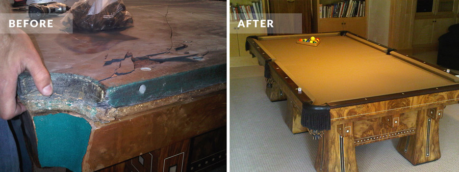 Colorado Pool Table Repair Gallery Pool Table Movers Denver - Pool table resurfacing