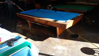 Downtown Denver - 14 Re-felted Brunswick Gold Crown Pool Tables