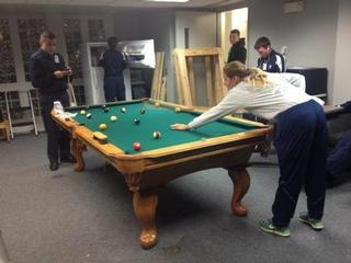 8 Connelly Pool Table For Air Force Academy Cadet School