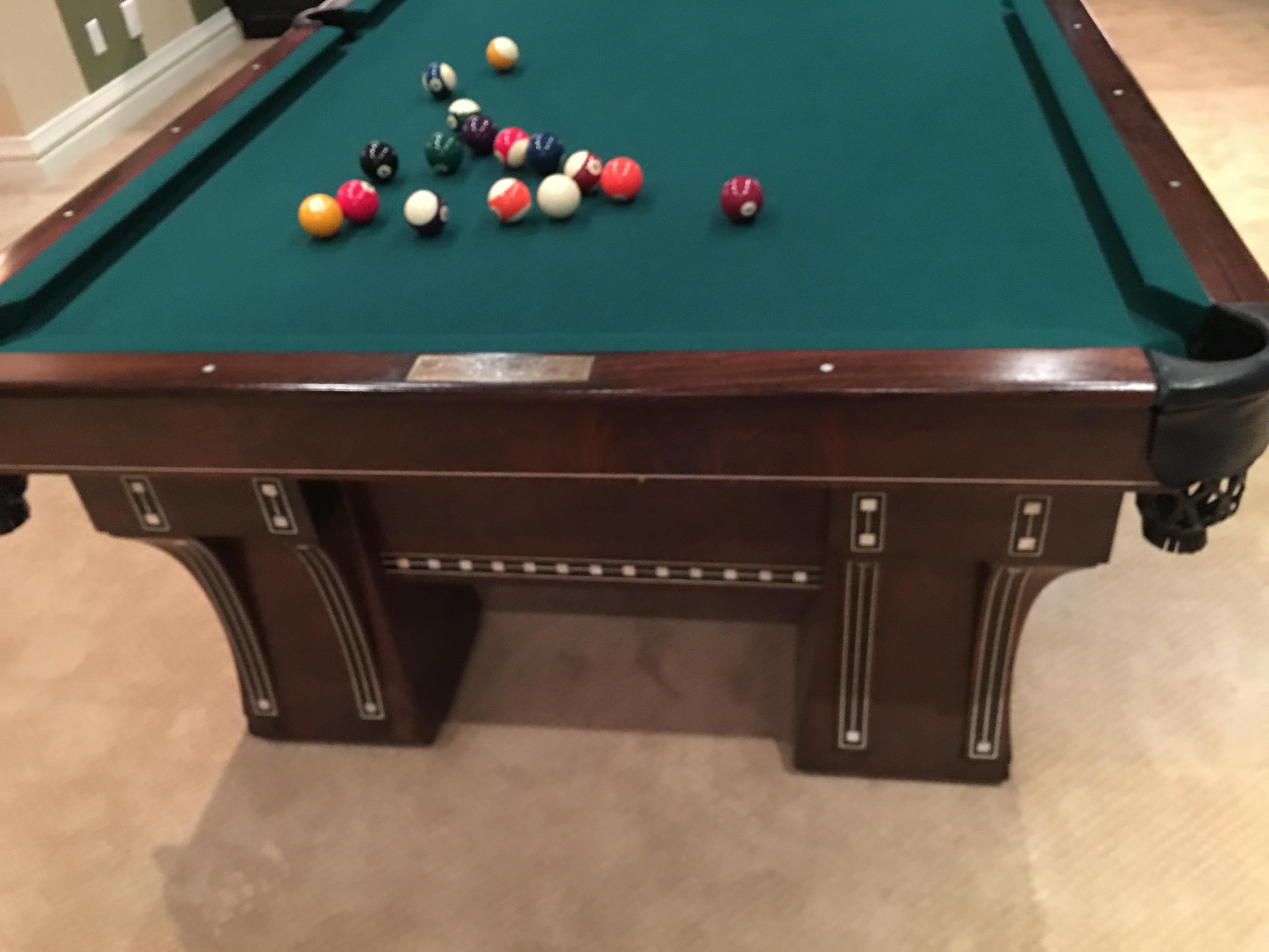 Pool Table Setup Denver Designer Tables Reference