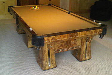 Denver Pool Table Restoration